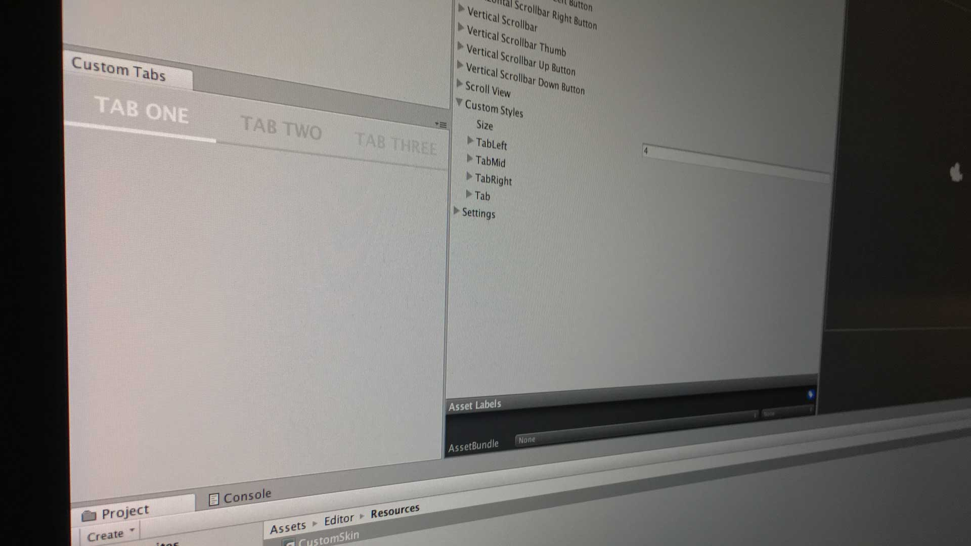 How To Style Unity Editor Window Toolbar Buttons With GUISkin